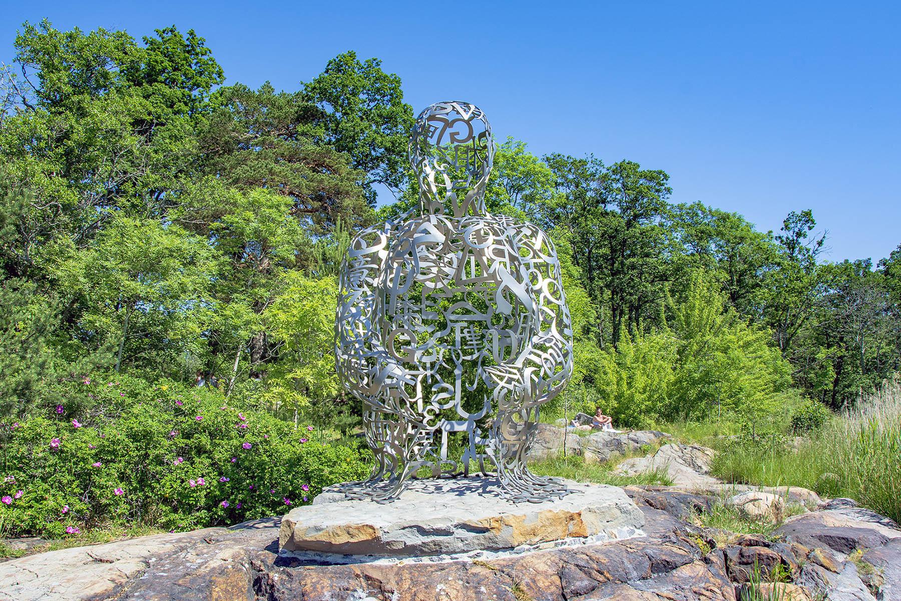 Jaume Plensa Artipelag Skulptur i natur