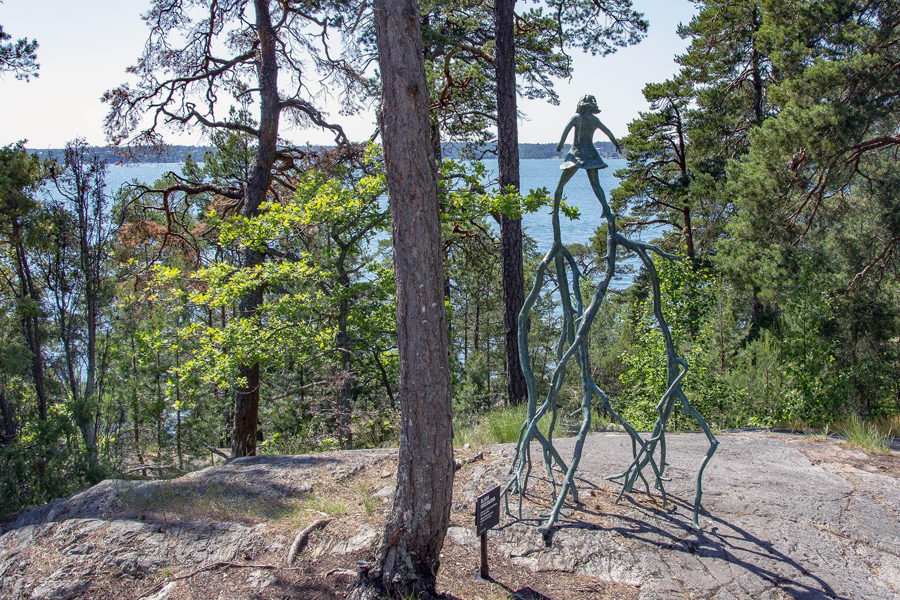 Klara Kristalova Artipelag Skulptur i Natur