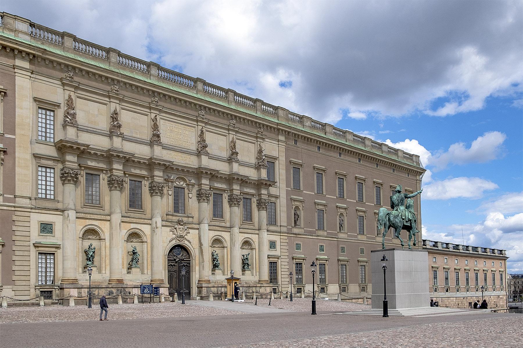 Slottet Gamla Stan Stockholm