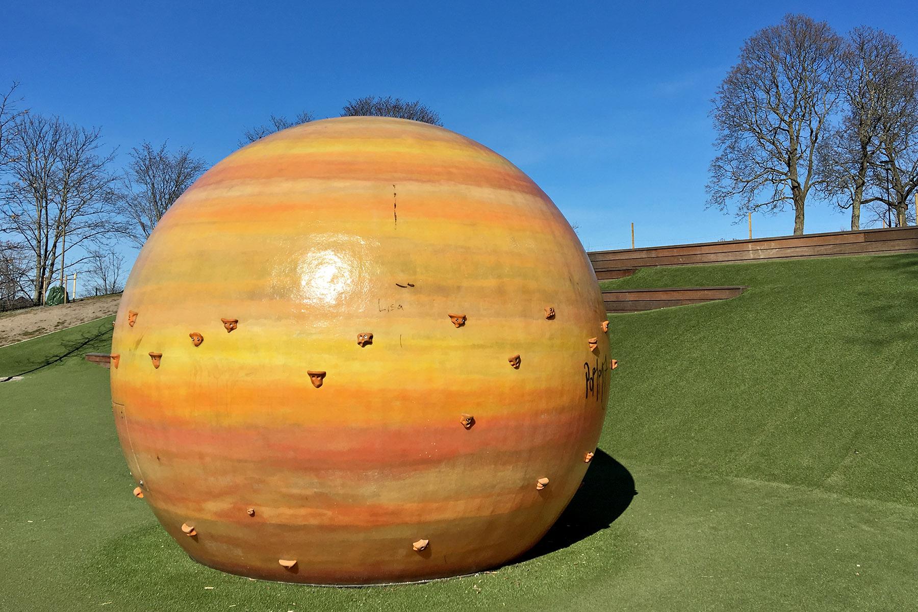 Planeten Jupiter i Observatorielunden