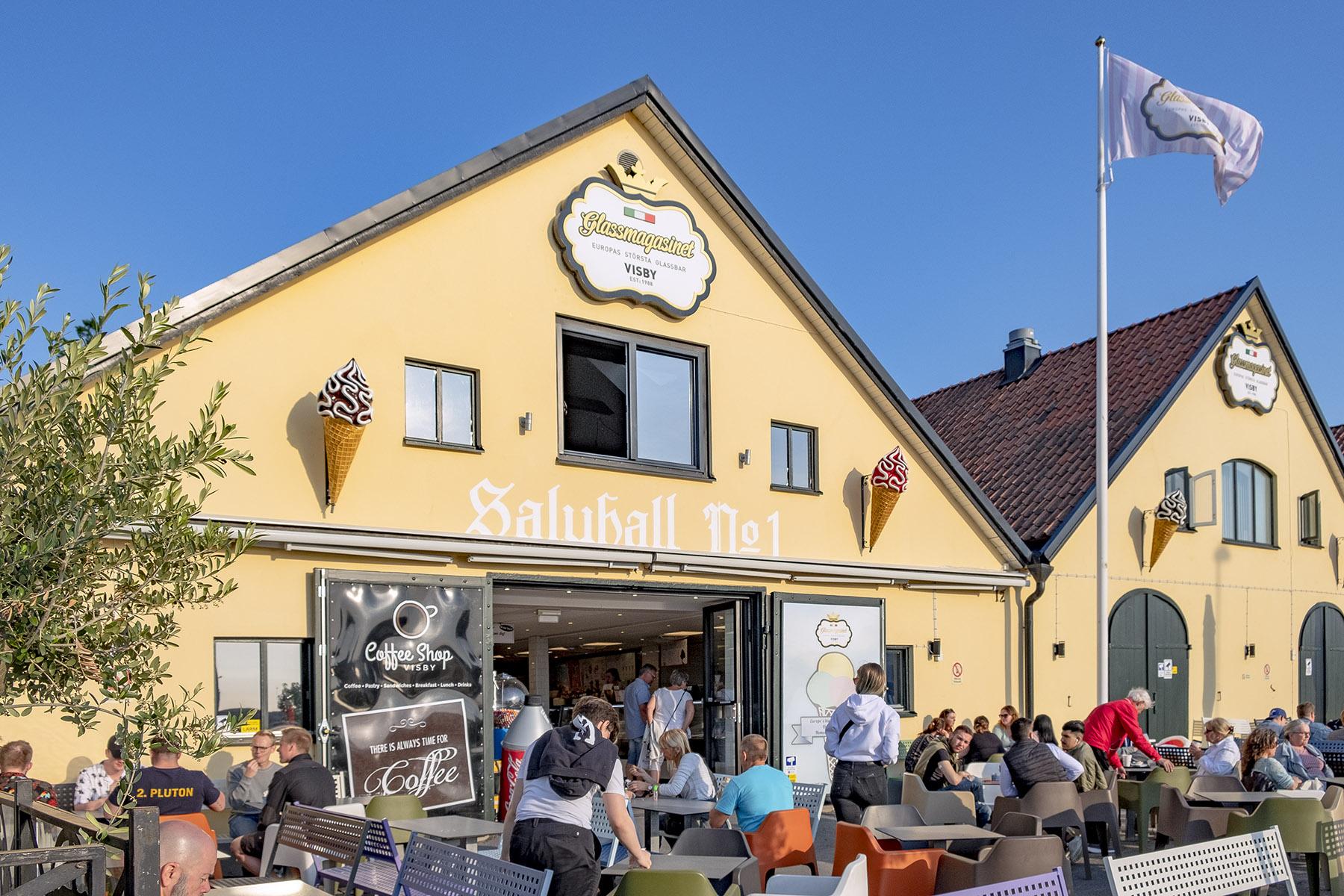 Glassmagasinet Glass i Visby