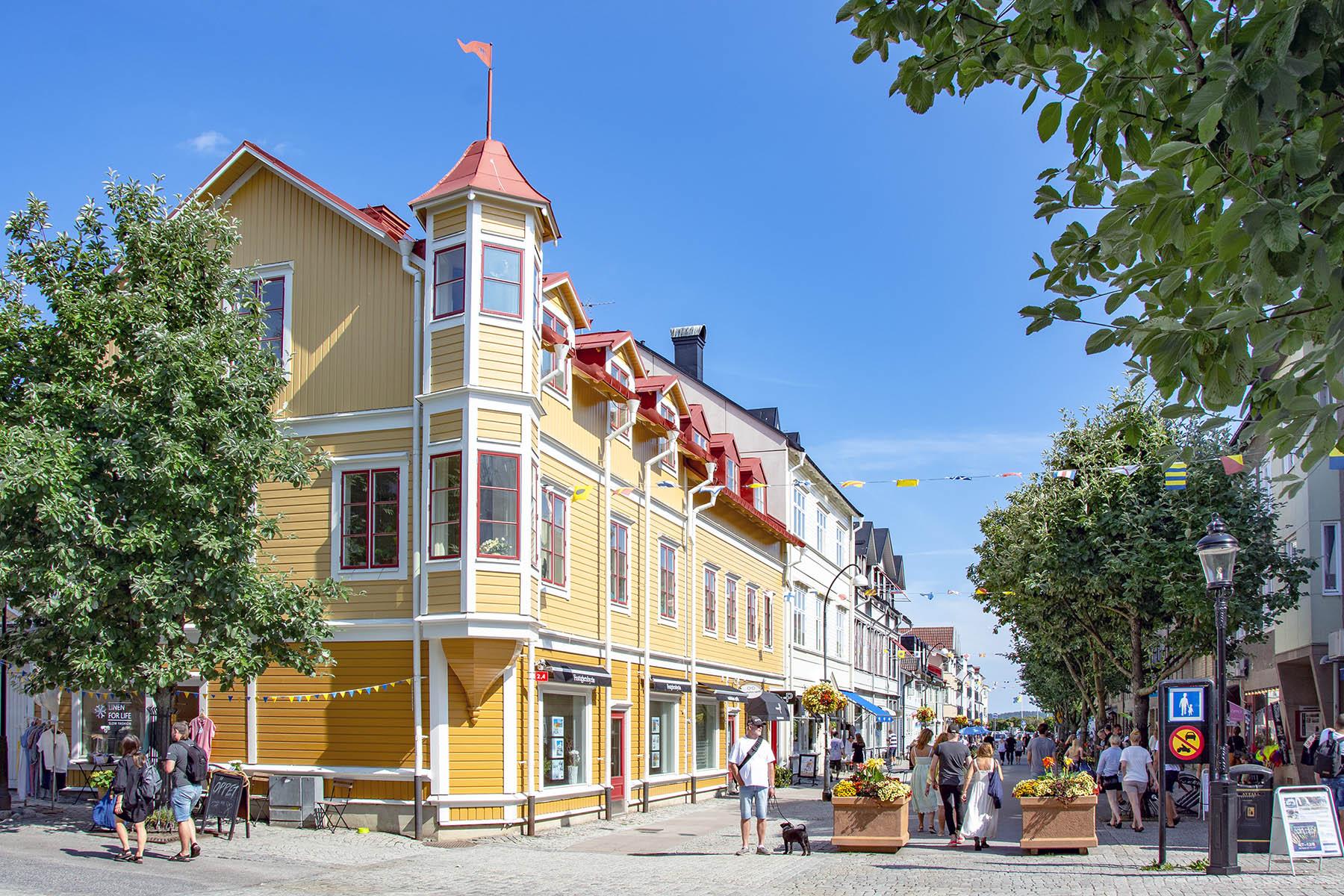 Hamngatan i Vaxholm
