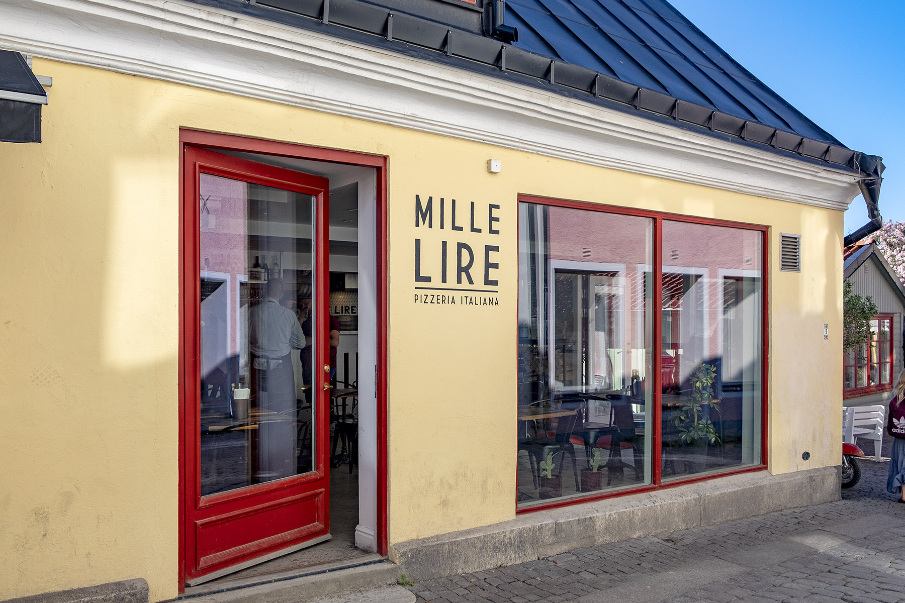 Mille Lire Mat i Visby