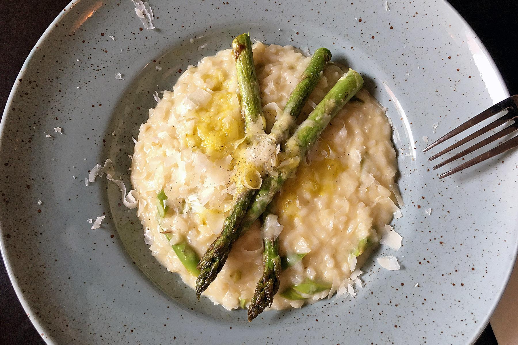 Mat i Visby RIsotto Italienaren