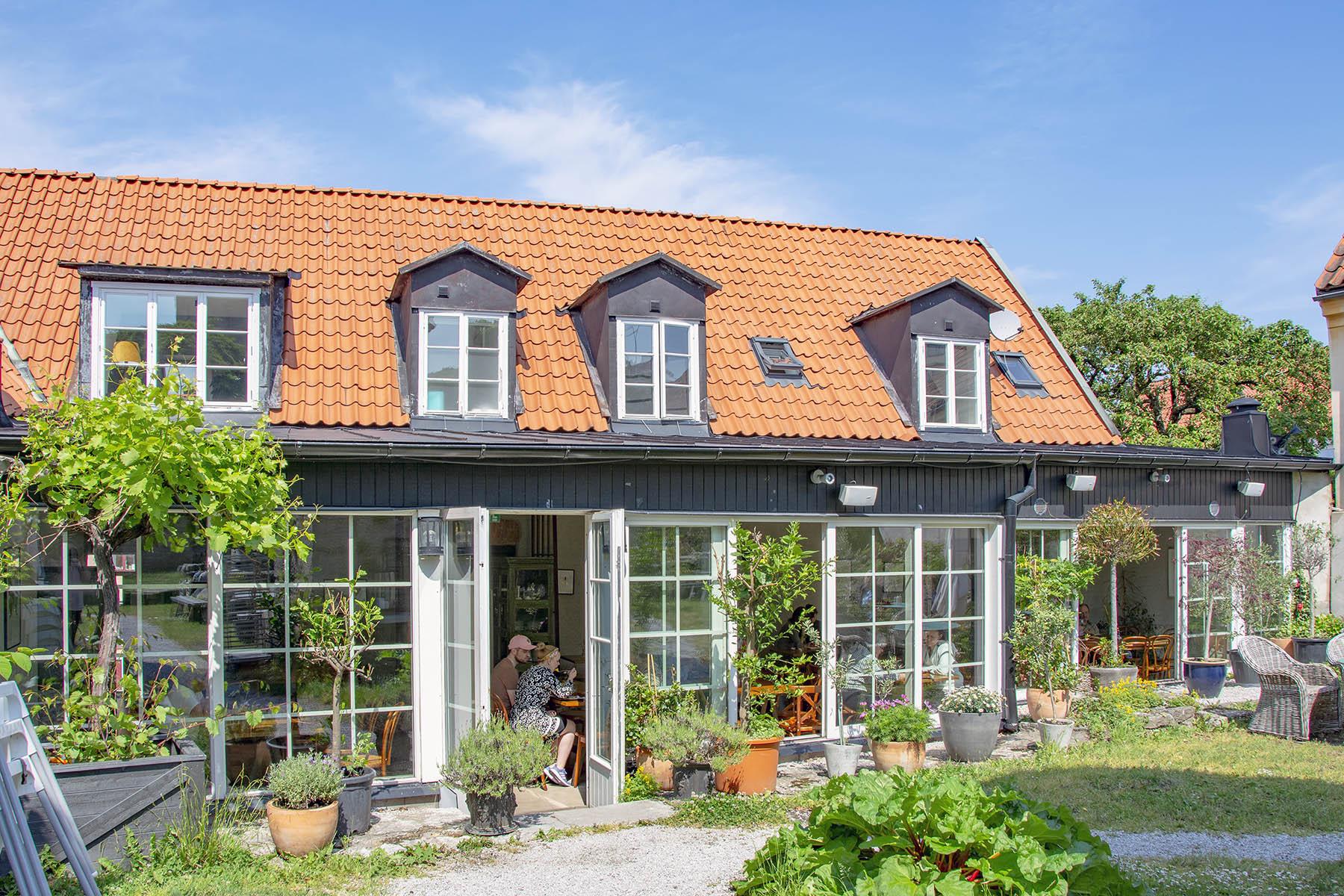 S:t Hans Café Fika i Visby