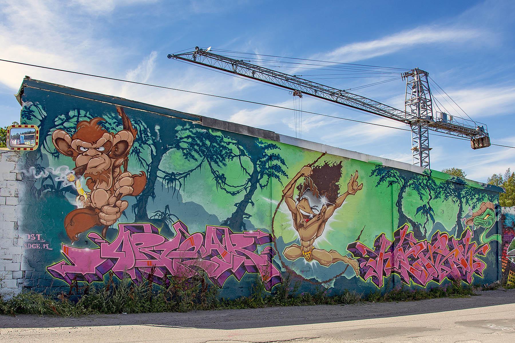 Snösätra Graffiti Wall of Fame Snösätra gatukonst graffiti Street art