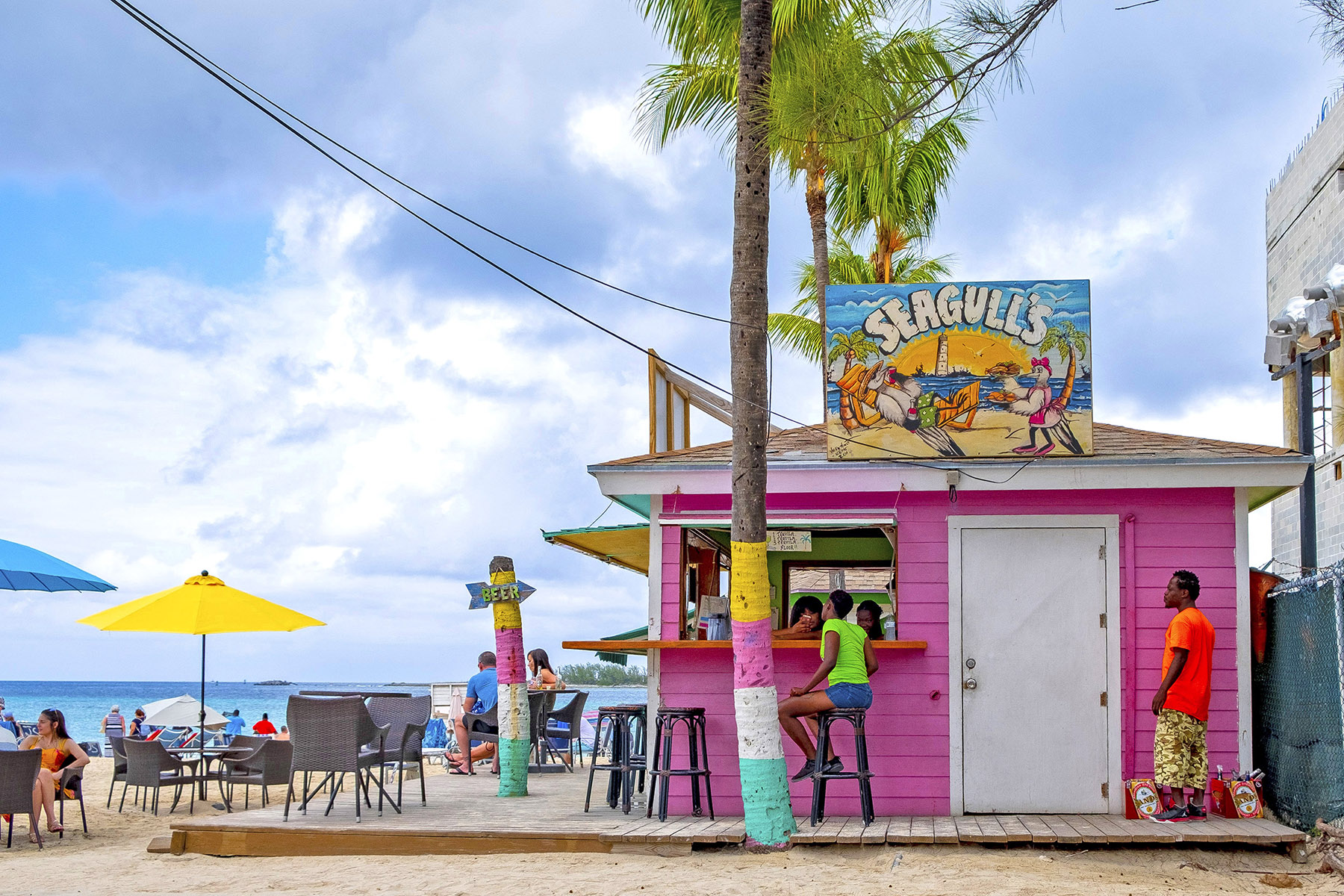 Junkanoo Beach, Nassau Bahamas