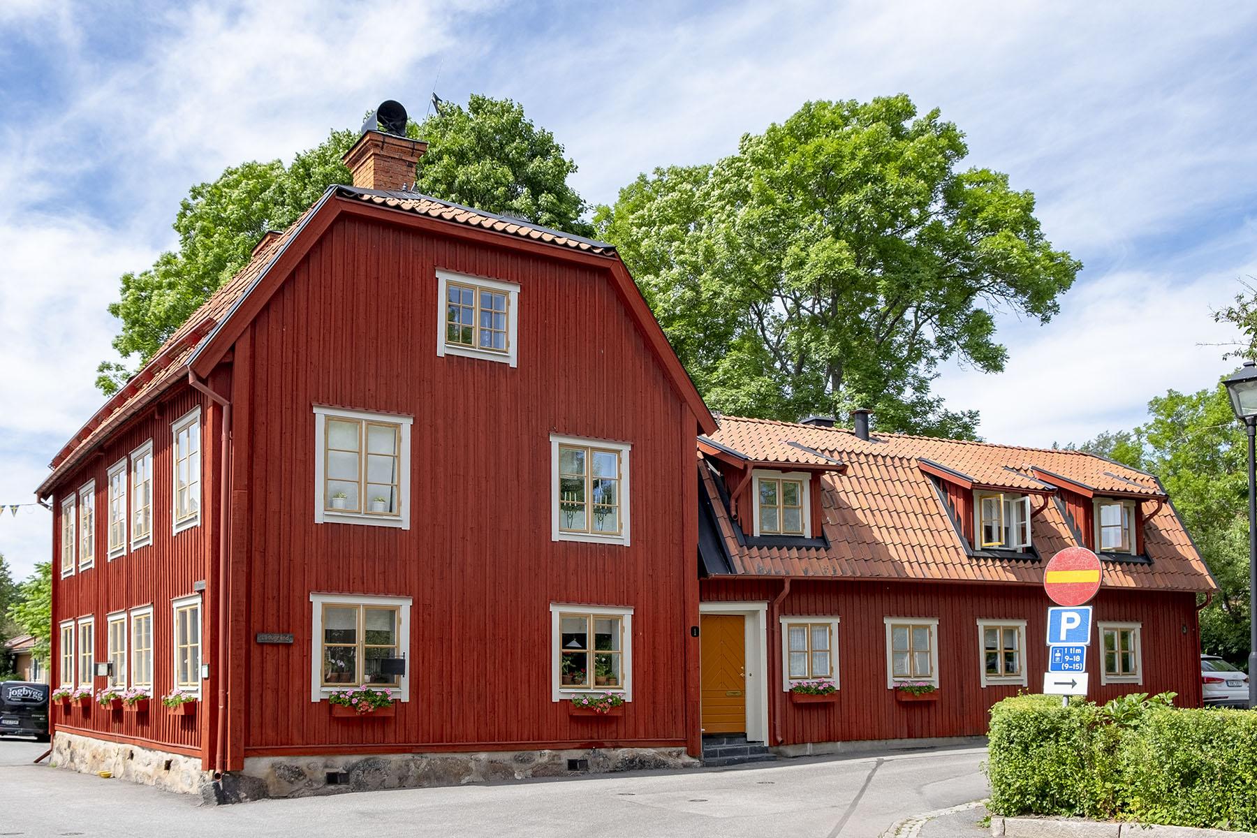 Ett av Sigtunas fina gamla hus.