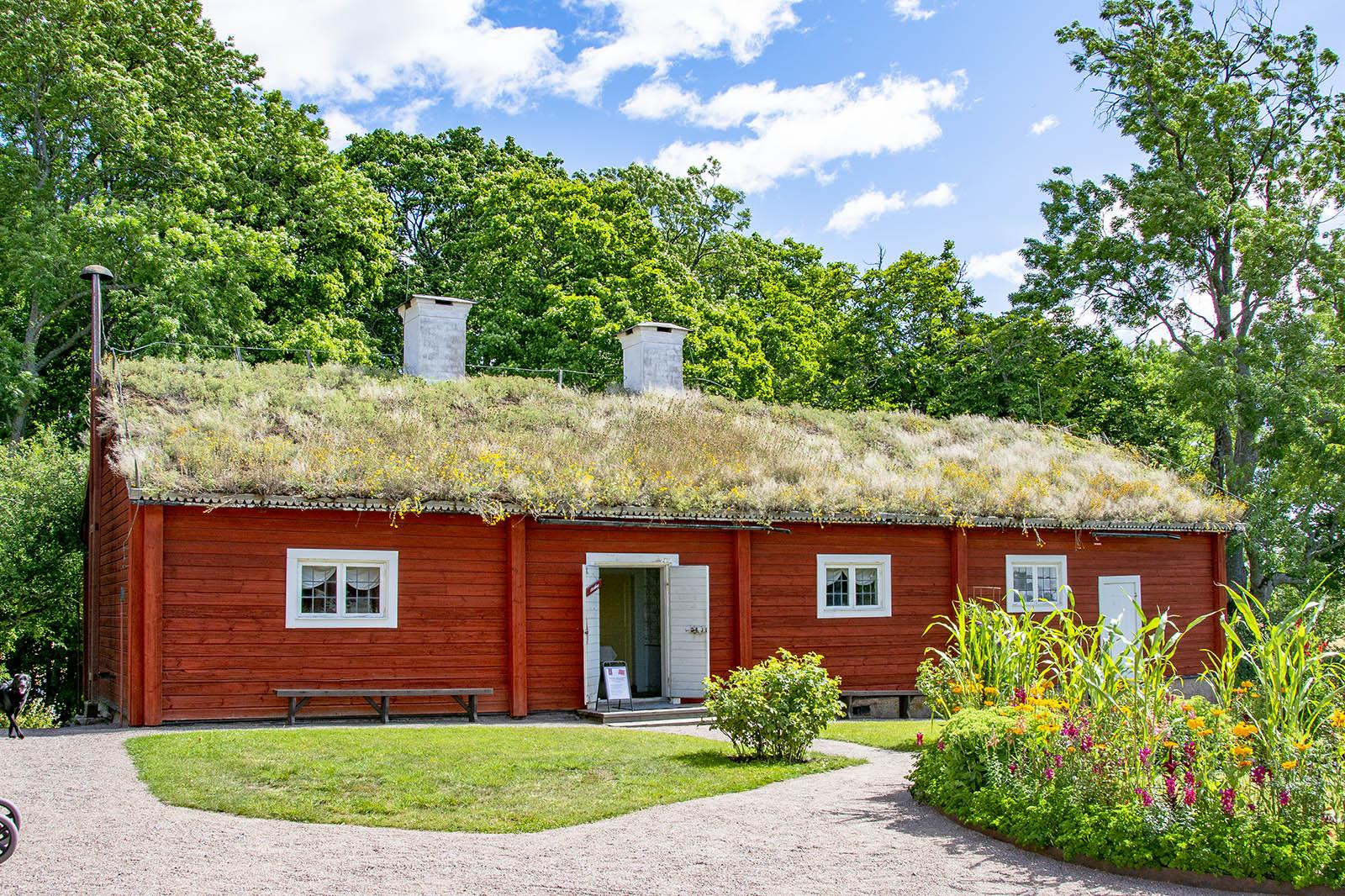 Linnés Hammarby östra flygeln