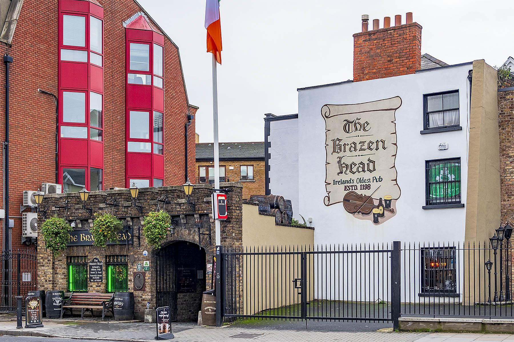 Matställen i Dublin The Brazen Head