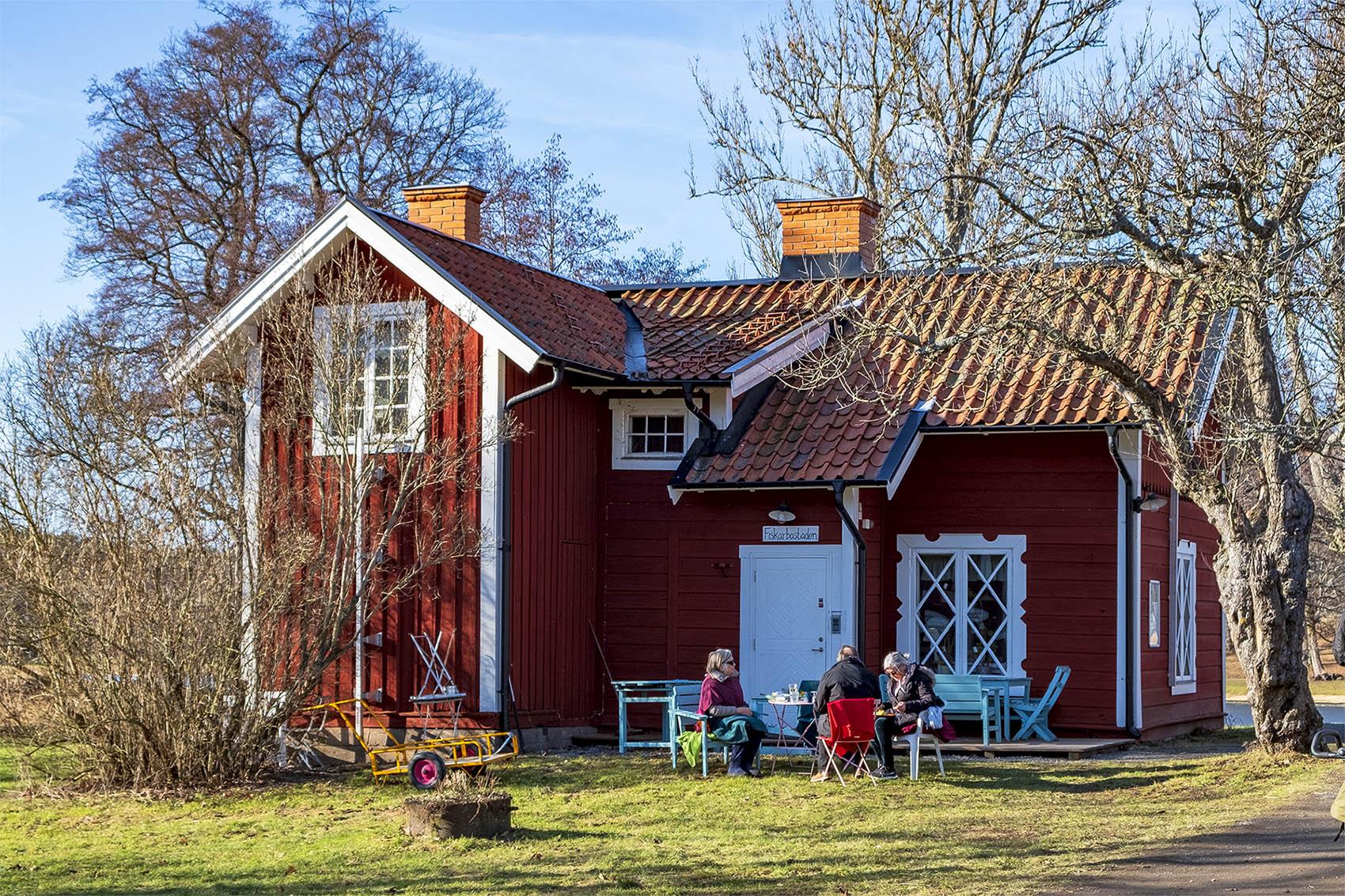 Fiskarbostaden Notholmen Tyresö slott