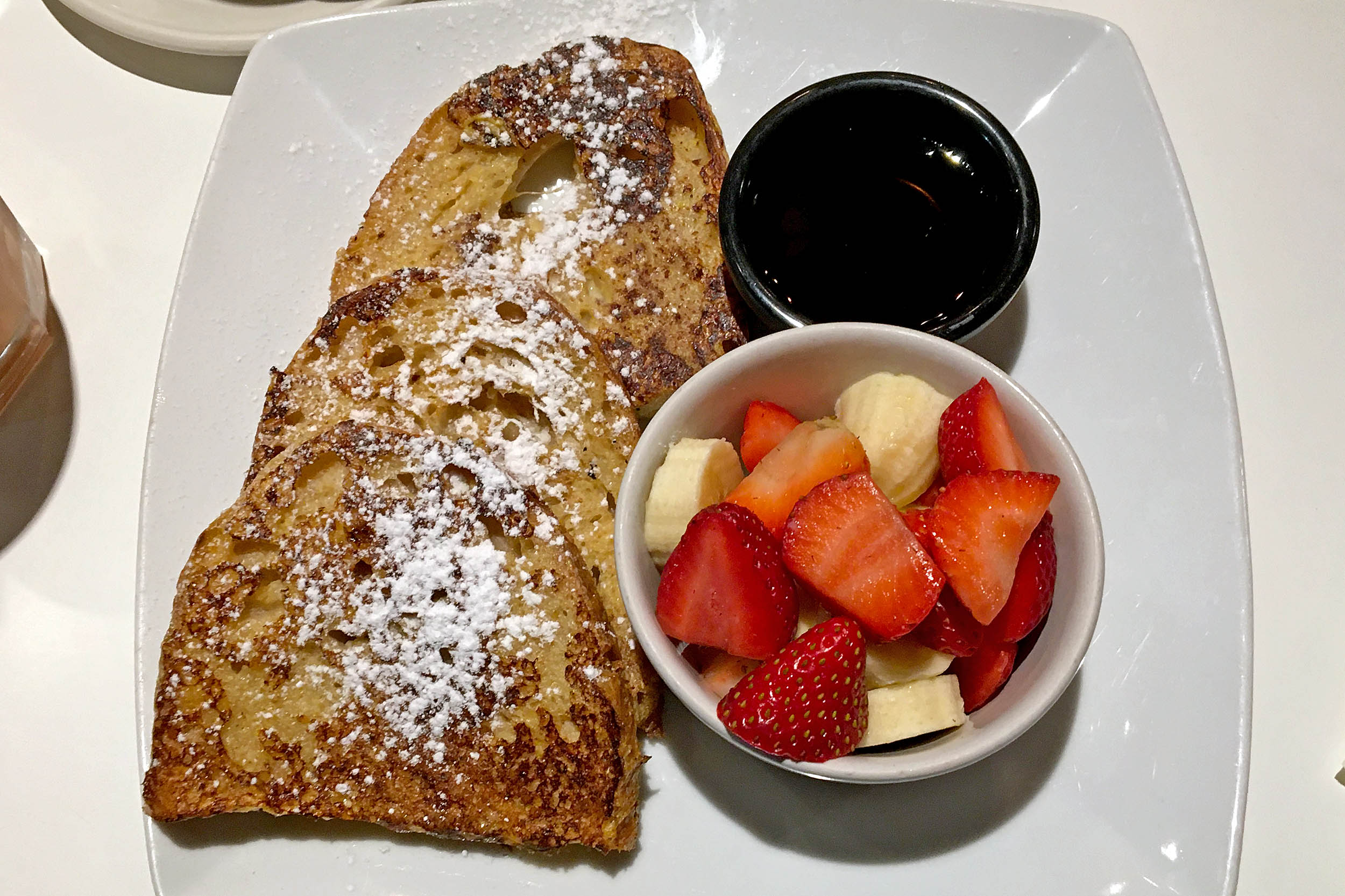 French Toast på Lemon Jelly Café i Dublin