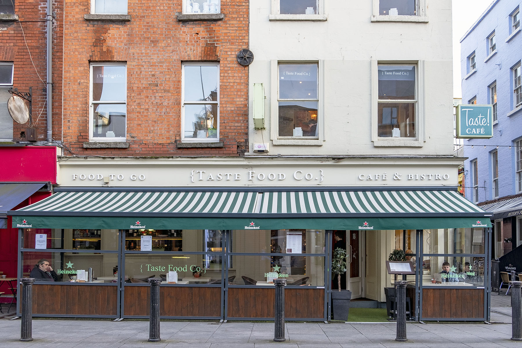 Taste Food Company Matställen i Dublin