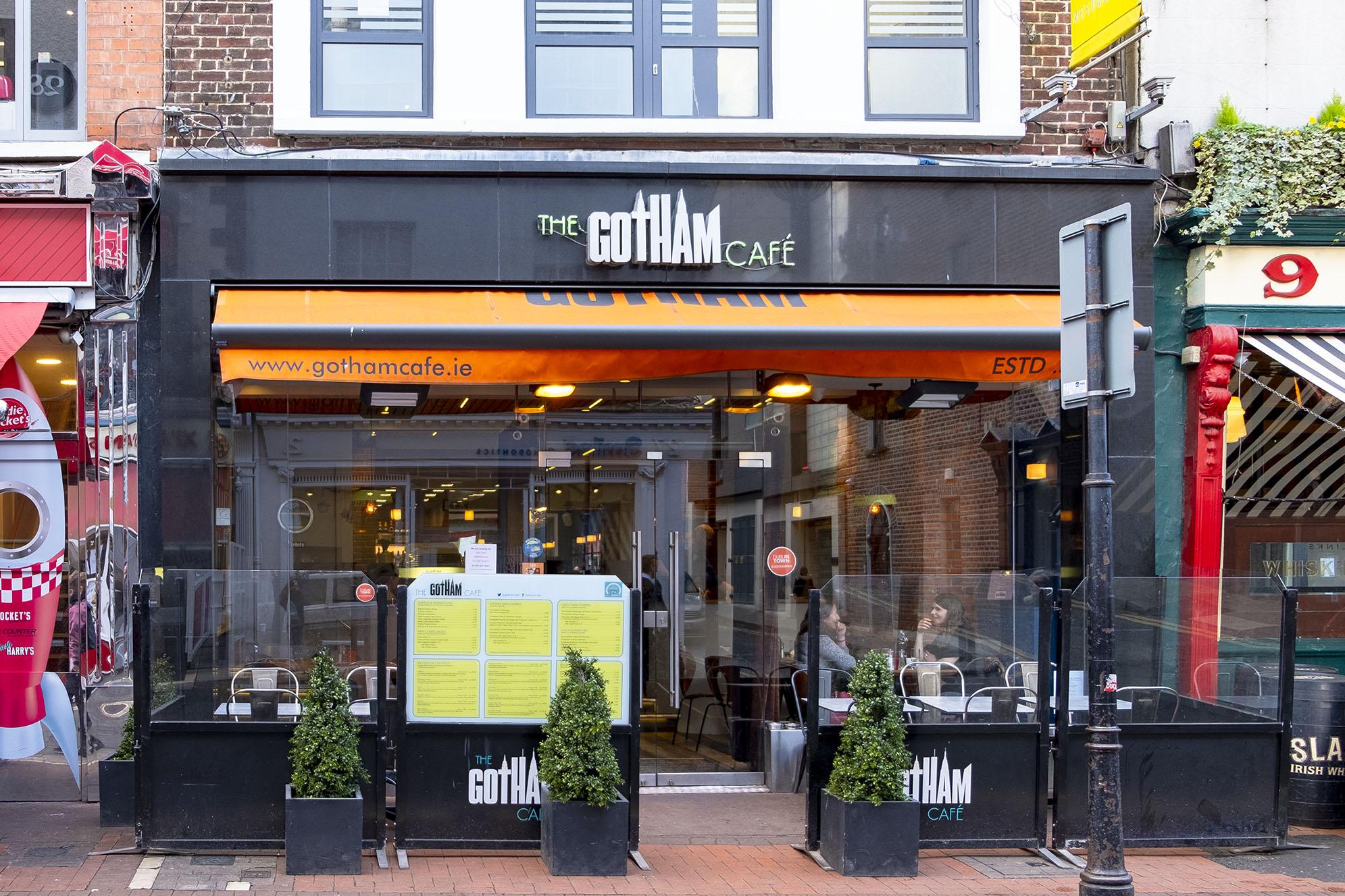 Matställen i Dublin Gotham Café