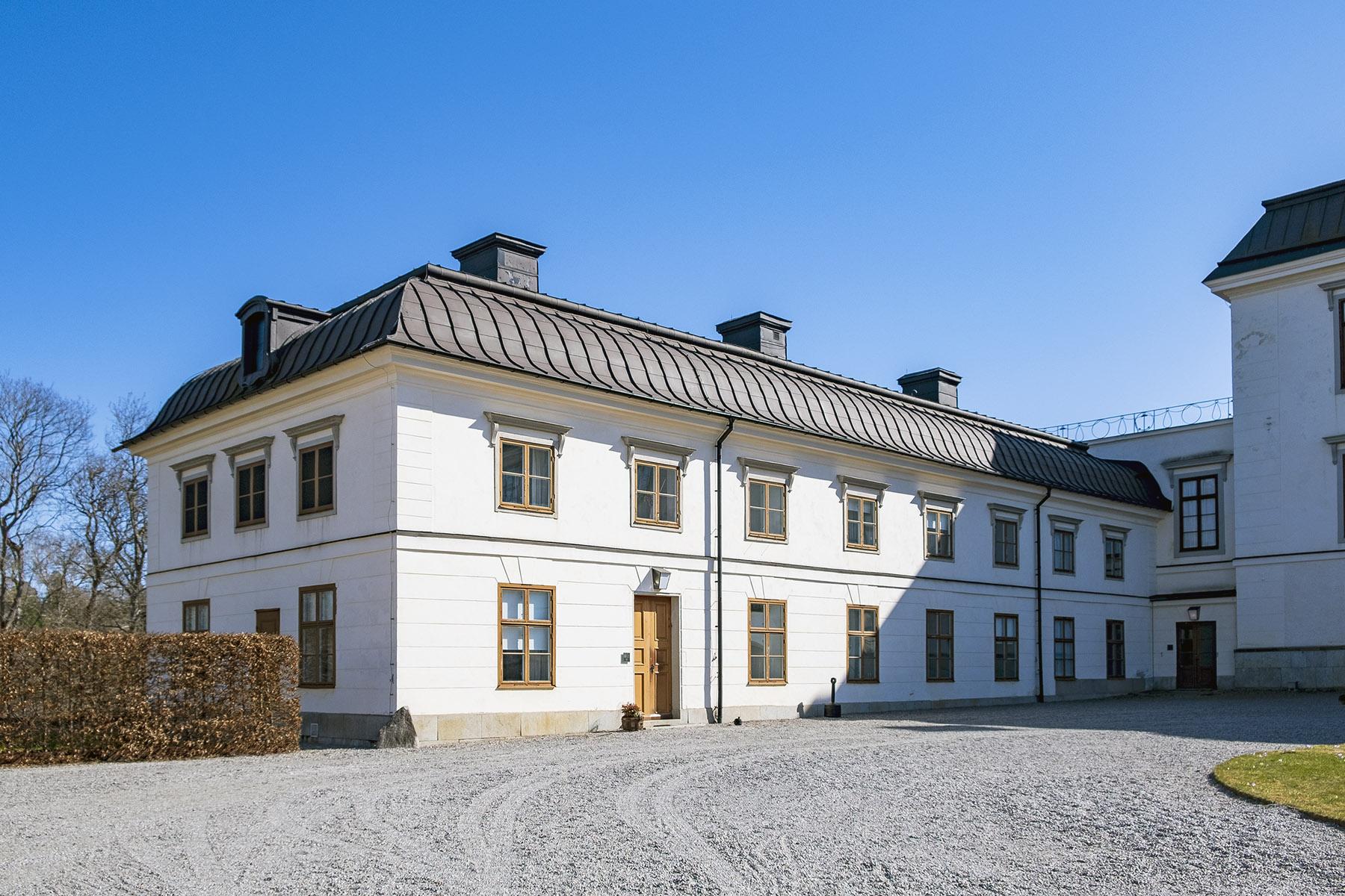 Rosersbergs slott Kavaljersflygeln.