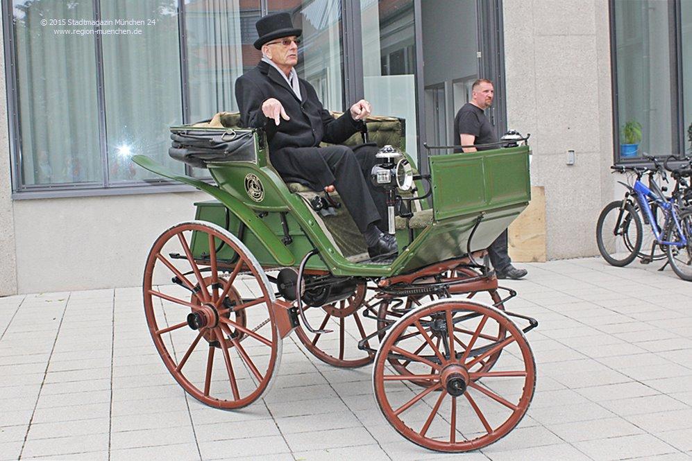 Älteste Kraftwagen der Welt