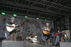 Paul Daly  und Dieter Reiter (re.), After Parade Party St. Patricks Day am Wittelsbacher Platz in München 2019