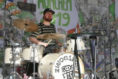 Paul Daly Band, After Parade Party St. Patricks Day am Wittelsbacher Platz in München 2019