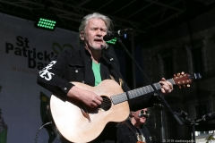 Johnny Logan, After Parade Party St. Patricks Day am Wittelsbacher Platz in München 2019