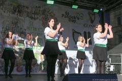 After Parade Party St. Patricks Day am Wittelsbacher Platz in München 2019