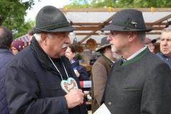 Manfred Zehle und Alexander Reissl (re.), Auer Dult am Mariahilfplatz in München 2019