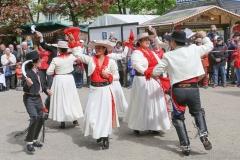 Chilenische Folkloregruppe Pülche, Auer Dult am Mariahilfplatz in München 2019