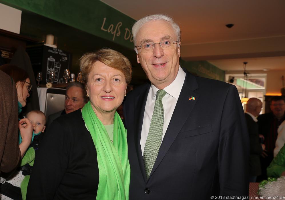 St. Patricks Day Botschafter Frühstück 2018