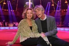 Michaela May und Bernd Schadewald, Premiere 1. Winterprogramm Circus Krone in München  2019