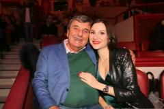 Peter Pongratz und Elena Yazykova, Premiere 1. Winterprogramm Circus Krone in München  2019