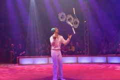 Glenn Folco, Tempo Jonglagen, Premiere 1. Winterprogramm Circus Krone in München  2019