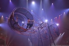 Truppe Mustafa Danguir, Vierer Riesenrad, Premiere 1. Winterprogramm Circus Krone in München  2019