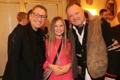 Iris und Thomas Zeilermeier mit Tochter, Premiere 1. Winterprogramm Circus Krone in München  2019