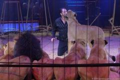 Martin Lacey Jr., Raubtiershow, Premiere 1. Winterprogramm Circus Krone in München  2019