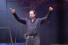 Martin Lacey Jr., Premiere 1. Winterprogramm Circus Krone in München  2019
