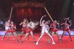 Großes Finale, Premiere 1. Winterprogramm Circus Krone in München  2019