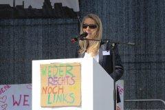 Sina Bodden, Demo gegen Coronamaßnahmen auf der Theresienwiese in München 2020
