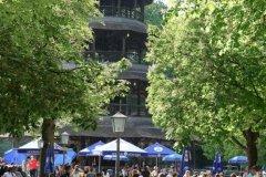 ChinesischerTurm, Eröffnung der Biergartensaison in München 2020