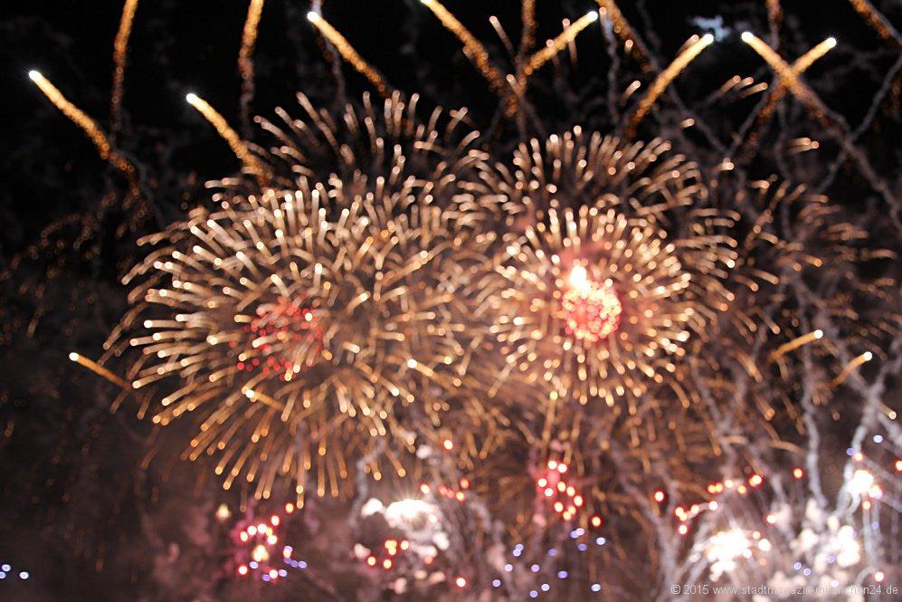 Feuerwerk der Superlative