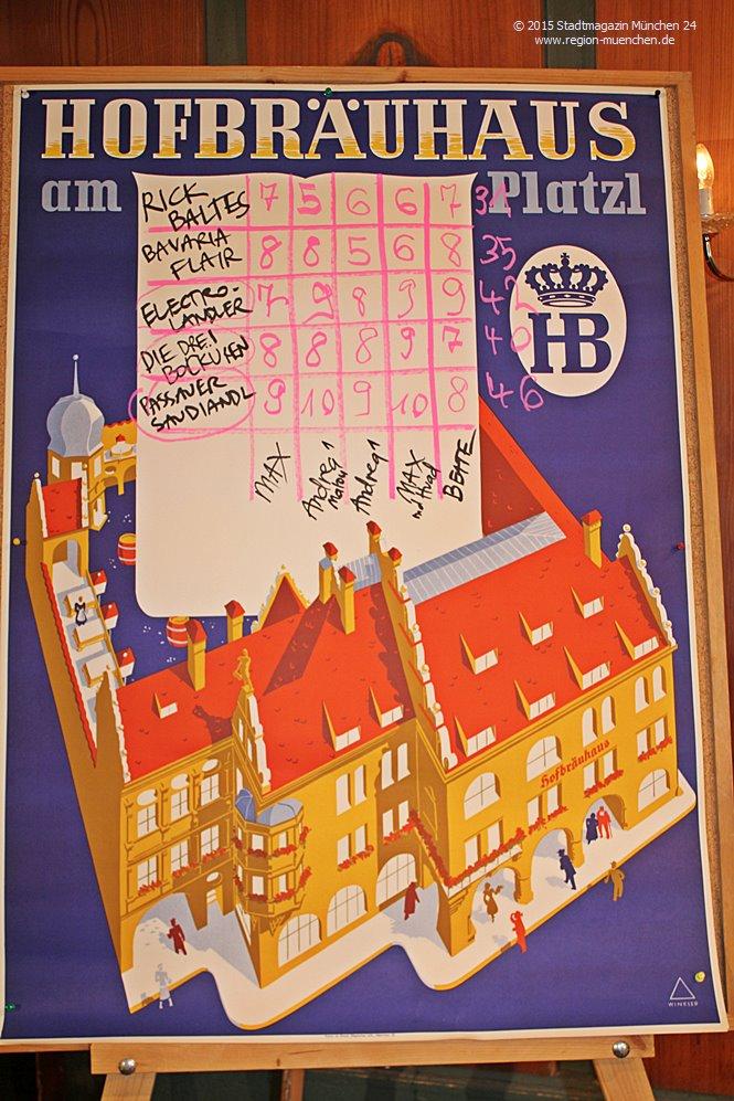 Gstanzl Slam Hofbräuhaus München