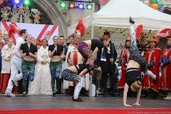Garde, Inthronisation der Narrhalla Prinzenpaare am Marienplatz in München 2020