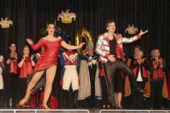 Showprogramm der Garde bei der Inthronisation der Würmesia Prinzenpaare in der Mehrzweckhalle in Neuried  2020