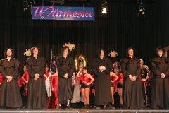 Showprogramm Hofballett bei der Inthroniation der Würmesia Prinzenpaare in der Mehrzweckhalle in Neuried  2020