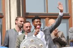 Meisterfeier FC Bayern 2018