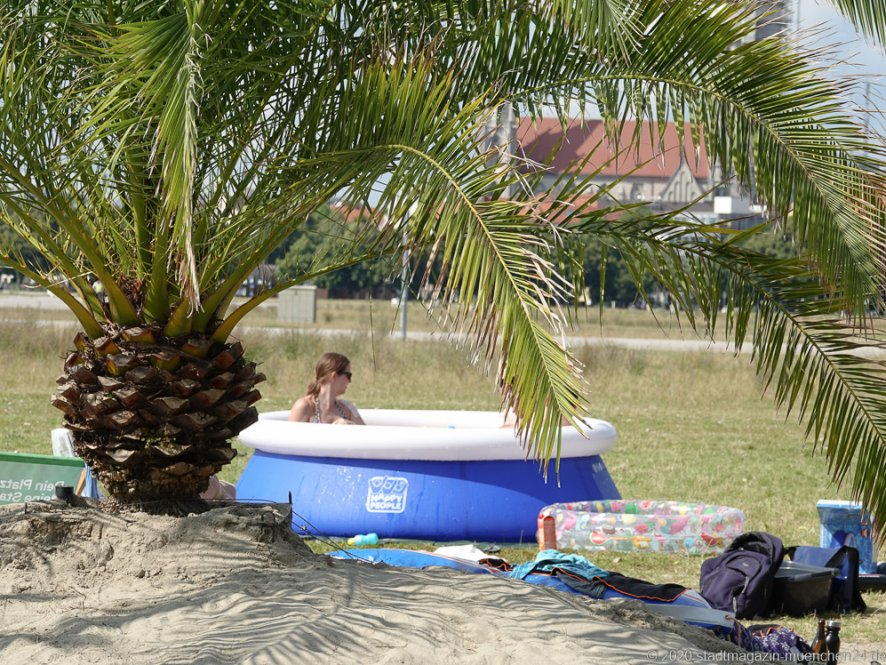 Palmengarten auf der Theresienwiese in München 2020