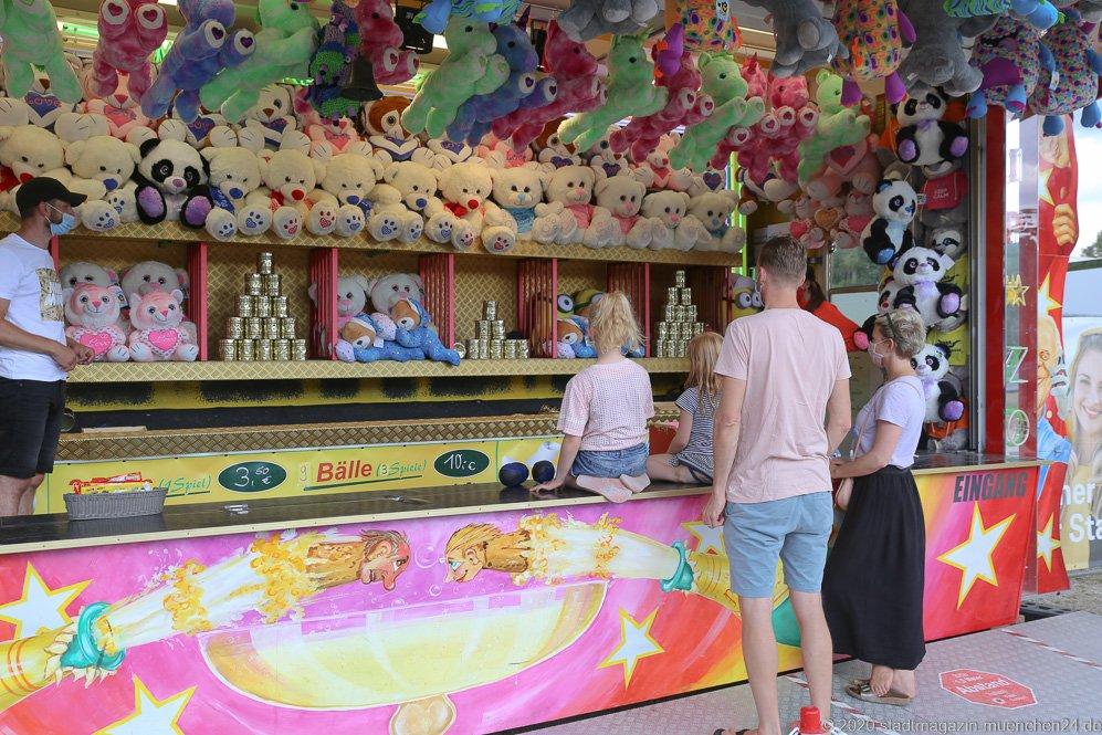 Promi-Treff, Sommer in der Stadt auf dem Tollwoodgelände im Olympiapark in München 2020