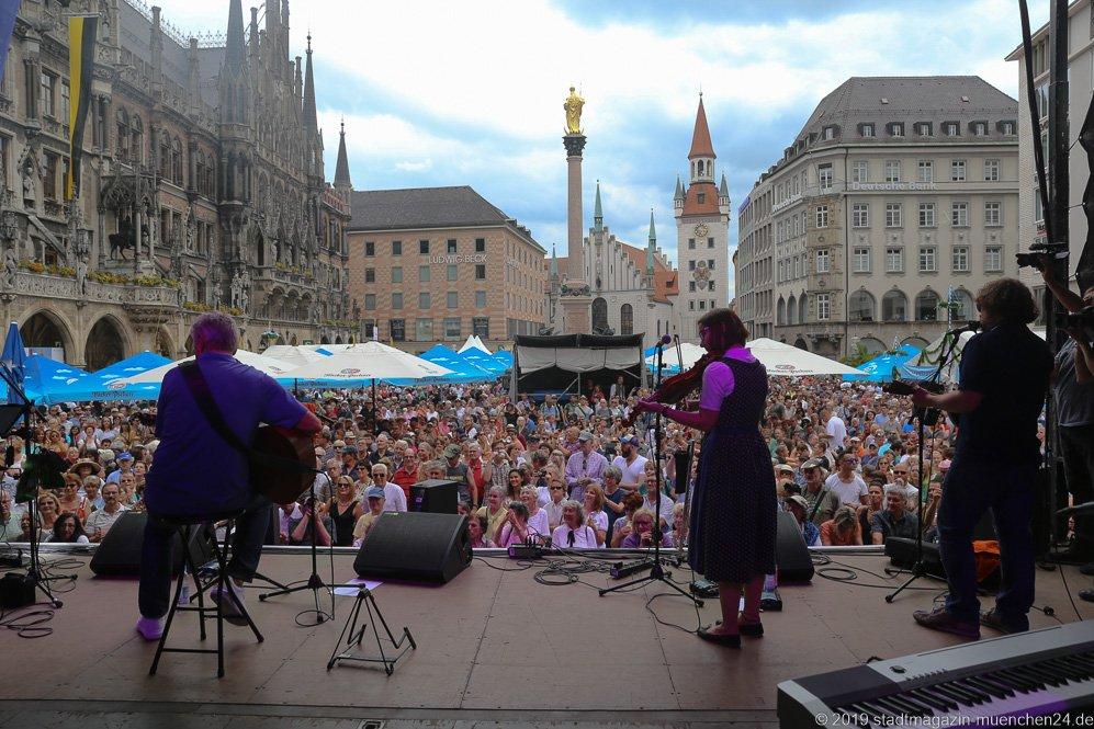 Stadtgründungsfest am Marienplatz in München 2019