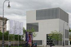 NS Dokumentationszentrum München, Beflaggung zum Tag der Befreiung von München vor 75 Jahren  2020