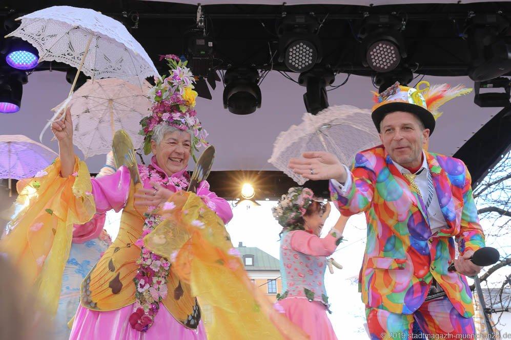 Tanz der Marktweiber am Viktualienmarkt in München 2019
