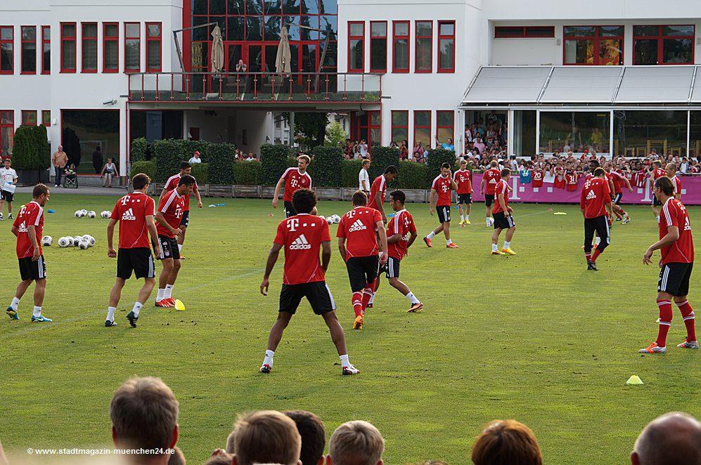 FC Bayern Training Säbener Straße