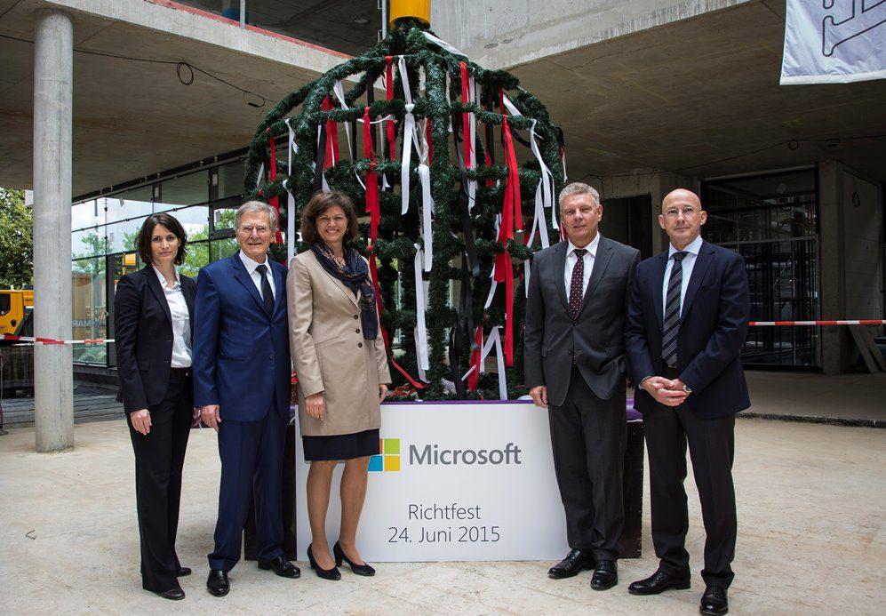 Microsoft Richtfest München